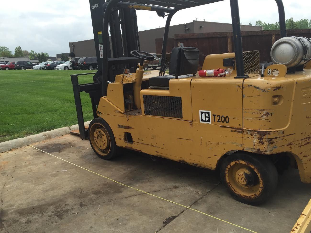 20,000lb CAT Royal Forklift For Sale