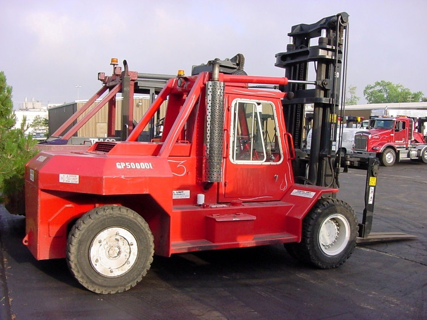 50,000lb. Capacity Bristol Forklift For Sale