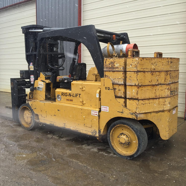 40000lb 60000lb Royal 40/60 Forklift For Sale Versa-Lift