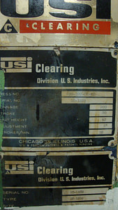 Clearing-Rowe 200 ton OBS Press Line (5)