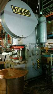 150 Ton Capacity Verson OBG Press For Sale