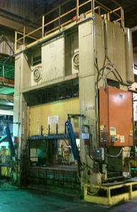 600 Ton Bliss Straight-Side Press For Sale