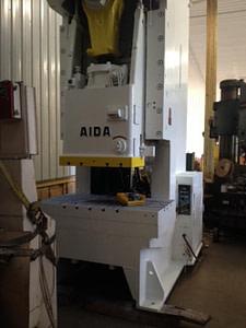 200 Ton Aida Gap Frame Press