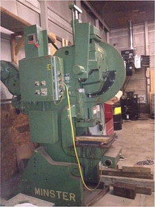Minster 32 Ton no 4 punch press for sale 1