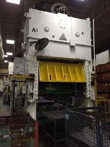 250 Ton Clearing Straight Side Press For Sale 2