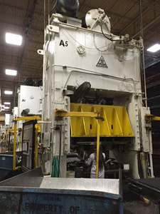 350 Ton Clearing Straight Side Press For Sale 2