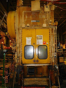 200 Ton Capacity Minster Straight Side Press For Sale (5)