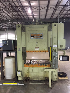 250 Ton Minster Tranemo Press For Sale