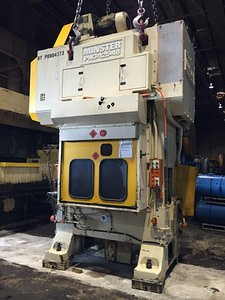 125 Ton Capacity Minster Piece-Maker Press For Sale