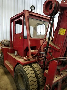 15,000lb. Capacity Taylor Air-Tire Forklift For Sale 7.5 Ton