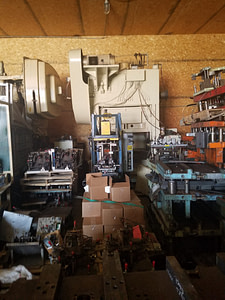 100 Ton Capacity Minster Press For Sale