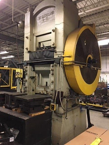 600 Ton Cleveland Knuckle Joint Press For Sale