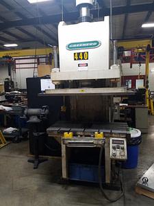 75 Ton Greenerd C Frame Hydraulic Press For Sale