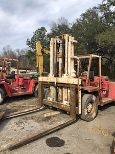 Ugly 30,000lb Clark Forklift For Sale 15 Ton