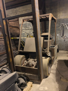 40,000lb Apache Forklift For Sale - Unfinished 20 Ton