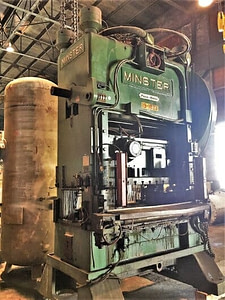 150 Ton Capacity Minster Straight Side Press