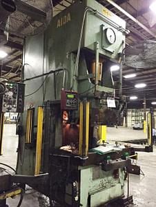 220 Ton Capacity Aida Single-Point Gap Press For Sale
