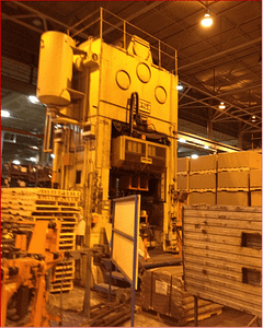 300 Ton Capacity USI Clearing Straight Side Presses For Sale (Two Available)