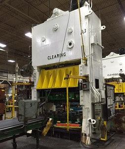 250 Ton Clearing Straight Side Press For Sale!