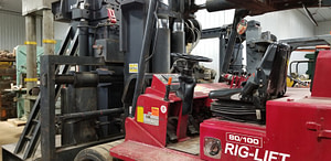 80,000lb100,000lb Royal Rig-Lift Forklift For Sale