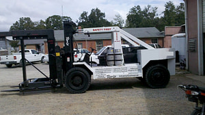 40,000lbs. Riggers Lift Forklift For Sale