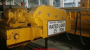 25 Ton Capacity Whiting Overhead Bridge Crane For Sale