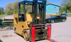30,000lbs. Elwell Parker Solid-Tired Forklift For Sale