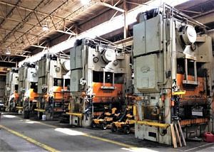 500 Ton Danly Straight Side Press For Sale