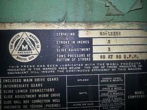 60 Ton Minster 1960 OBI 4 Small