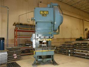 150 Ton Bliss OBI Press Model C-150 For Sale