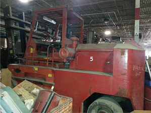52,000lbs. Taylor Forklift For Sale - Sold