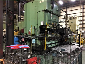 275 Ton Aida Gap Frame Press For Sale