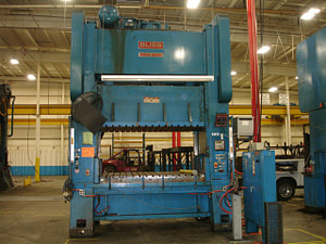 200 Ton Bliss Press - Straight Side For Sale