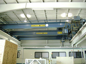 20 Ton West Michigan Overhead Crane For Sale