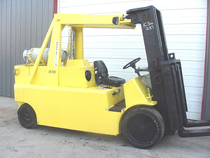 30,000lbs. Bristol Mini-Rigger Forklift For Sale