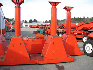200 Ton Lift Systems Inc 4-Point Hydraulic Gantry For Sale