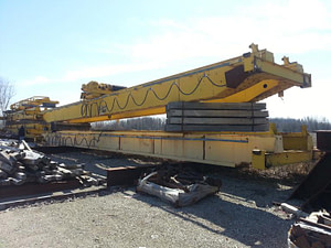 25 Ton Grand Traverse Overhead Bridge Crane For Sale