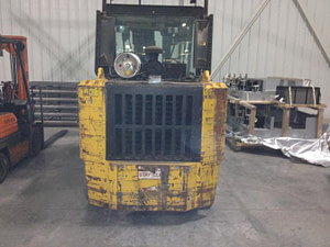 Taylor 30000lb forklift fork truck pic 1