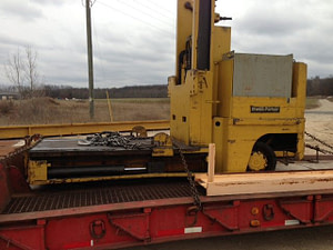 20000lb Elwell Parket Die Handler For Sale Used
