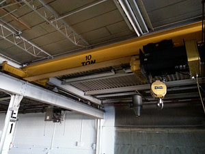 10 Ton Star Top-Running Overhead Crane with 19' Span