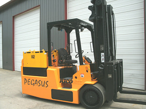 30,000lbs. Rico Electric Forklift For Sale