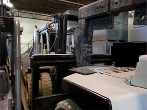 80,000lb Bristol Riggers Special Forklift For Sale