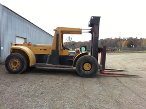 "Hyster H460B Forklift - 46,000lb @ 48"" Load Center For Sale"