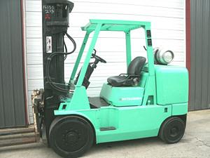 mitsubishi 7000kg fork truck