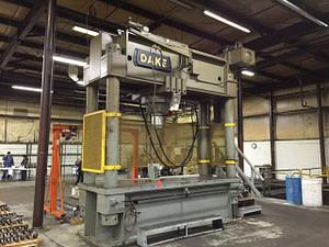 600 Ton Straightening Press