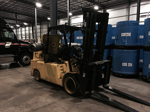 30,000lb. Capacity Lowry Forklift For Sale 15 Ton