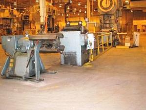 10,000lb. Capacity CWP Straightener Servo Feedline For Sale (7)