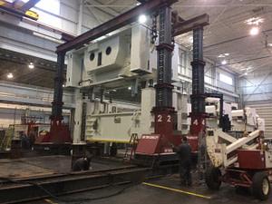 600 Ton Capacity J & R Lift -N- Lock Hydraulic Gantry For Sale