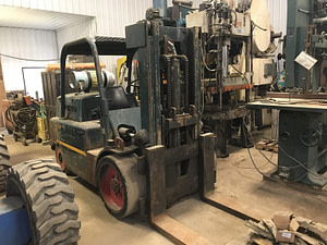 15,000lb. Capacity Hyster Forklift For Sale 7.5 Ton