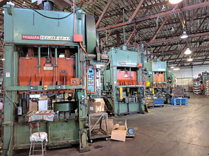 200 Ton Capacity Niagara Straight Side Press For Sale (2 Available)